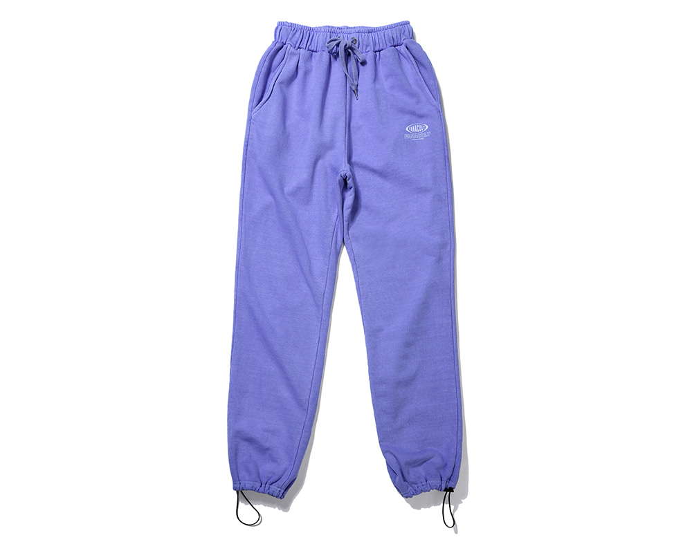 FANACULT BIG NAME SET_UP PANTS-PURPLE