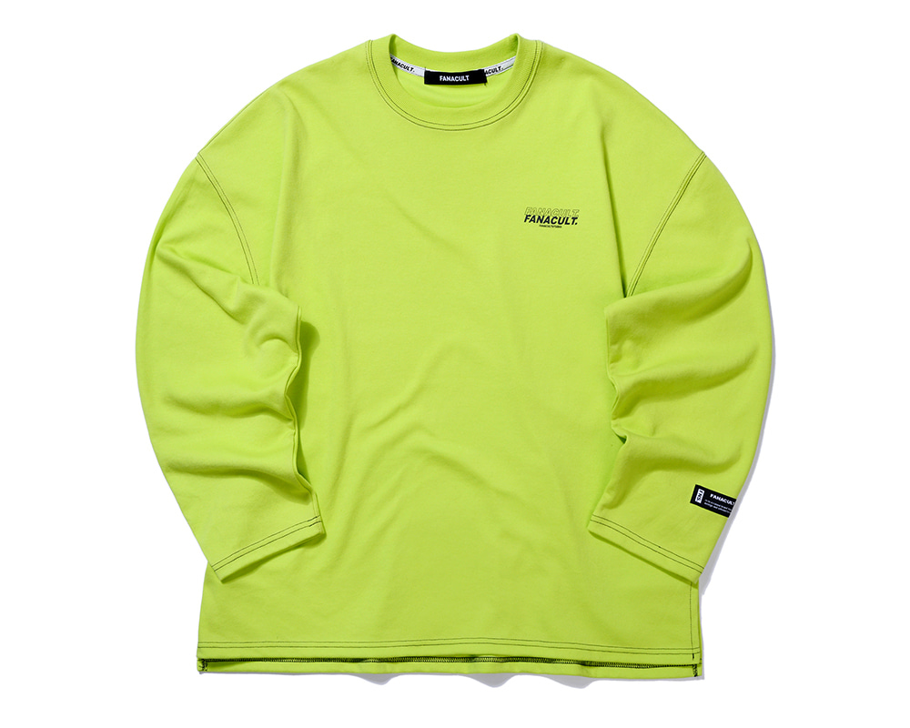 FANACULT LONG SLEEVE-NEO YELLOW