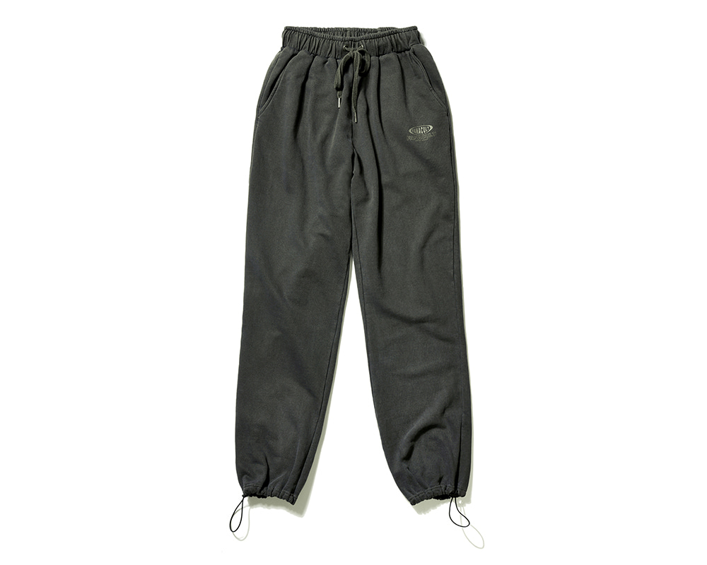 FANACULT BIG NAME SET_UP PANTS-BLACK
