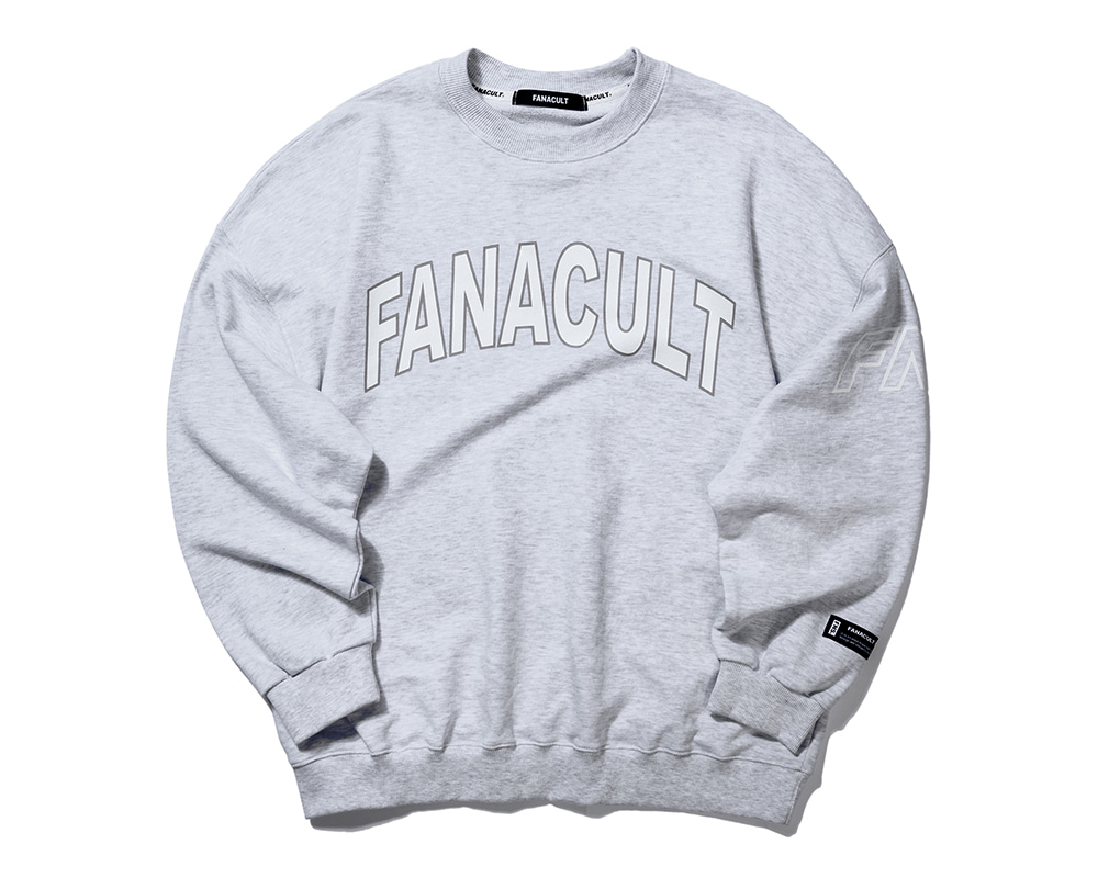 FNS SIDE ARM SWEATSHIRT- MELANGE GRAY