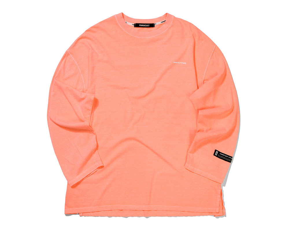 FANACULT STUDIO. LONG SLEEVE-NEO ORANGE