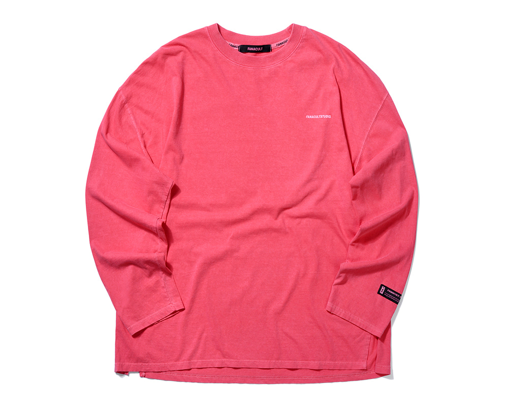 FANACULT STUDIO. LONG SLEEVE-BRICK RED