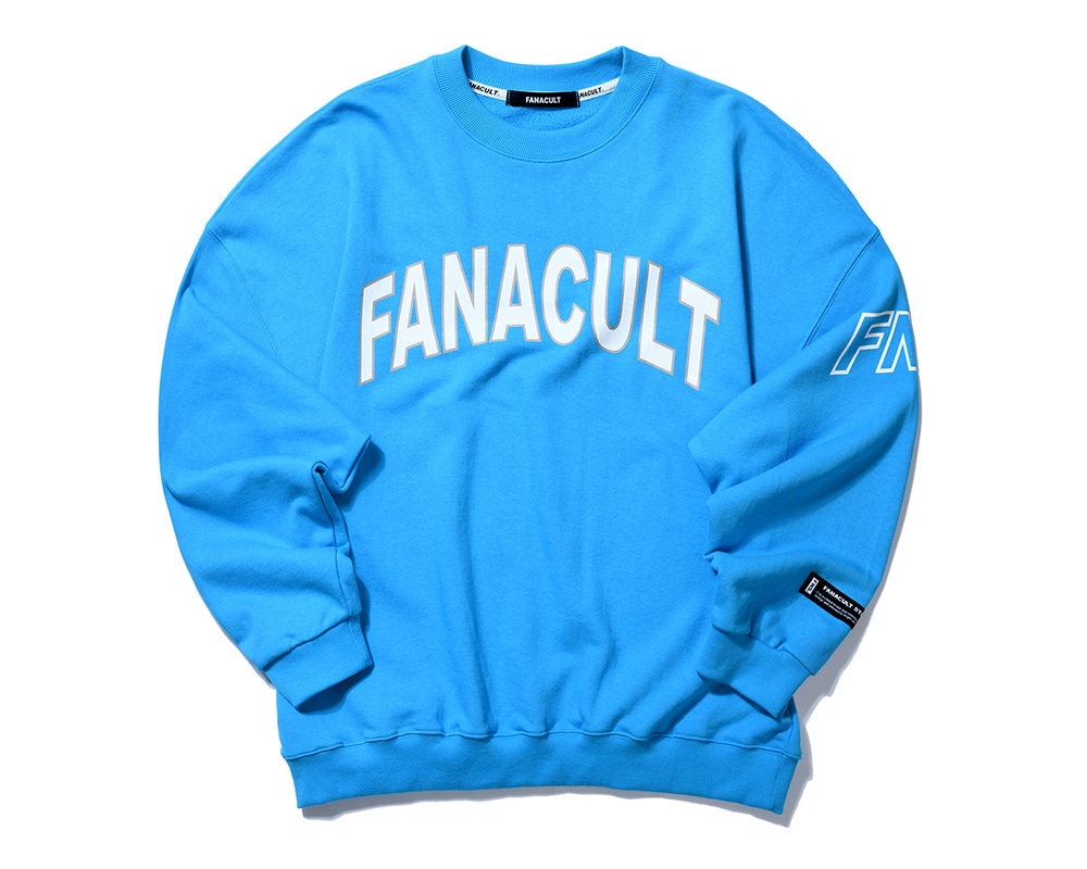 FNS SIDE ARM SWEATSHIRT-BLUE