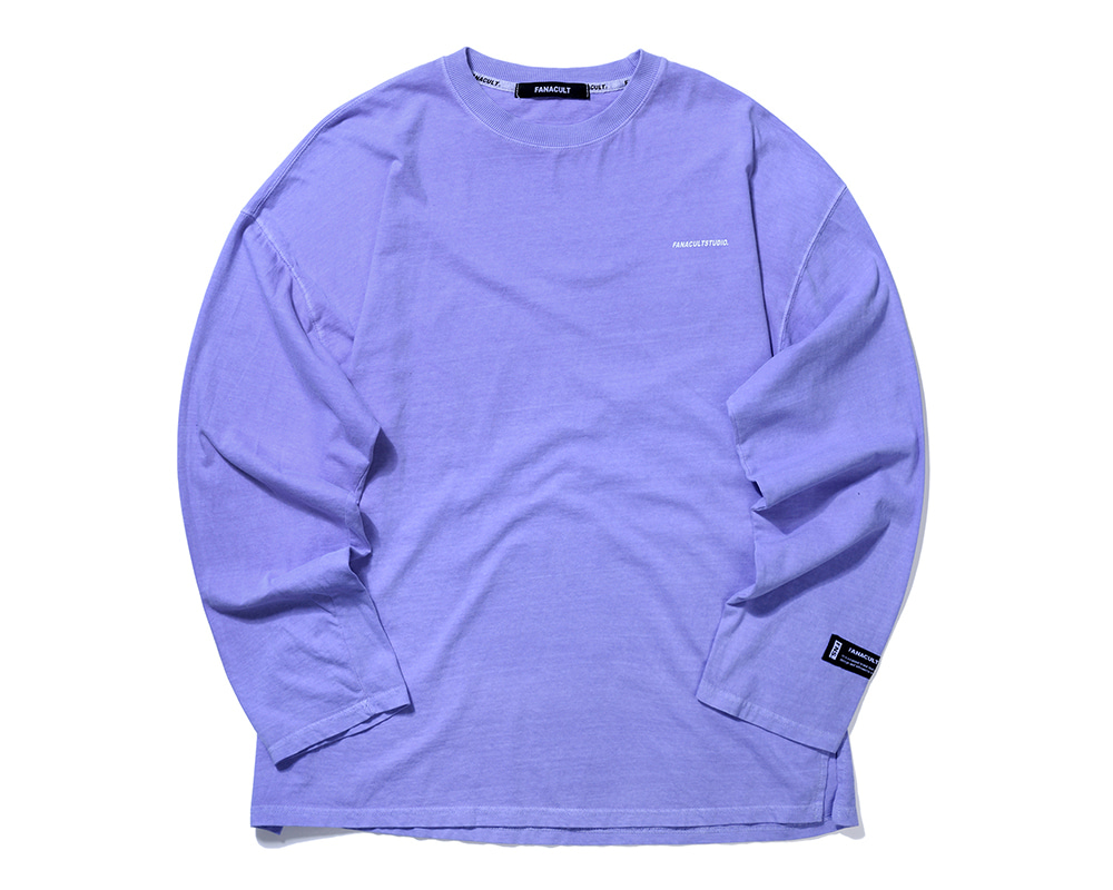 FANACULT STUDIO. LONG SLEEVE-PURPLE