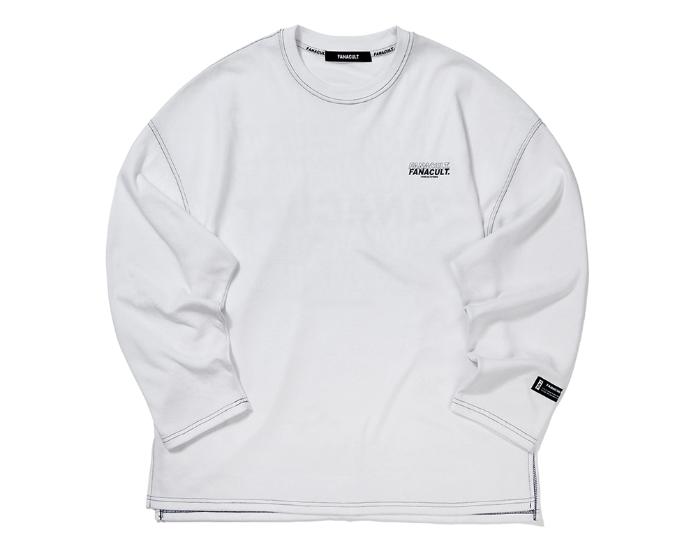 FANACULT LONG SLEEVE-WHITE