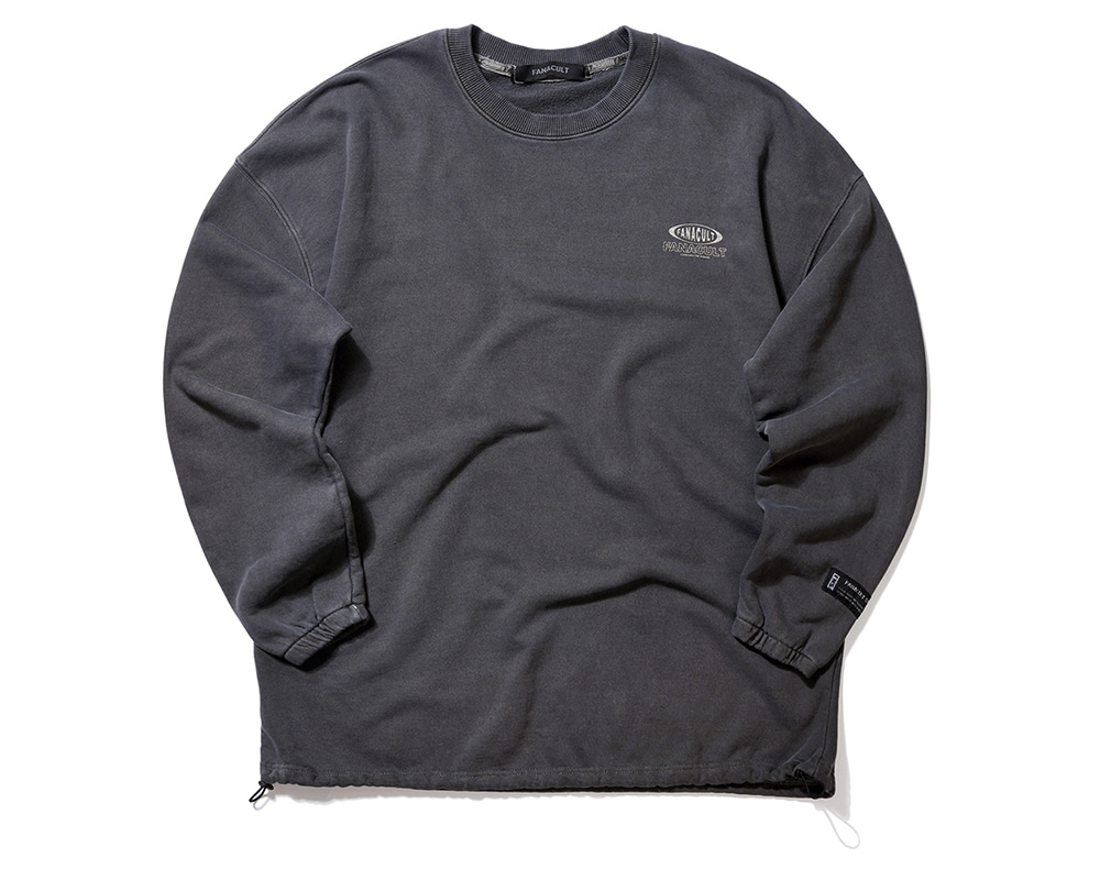 FANACULT ONE LOGO SLEEVE-BLACK