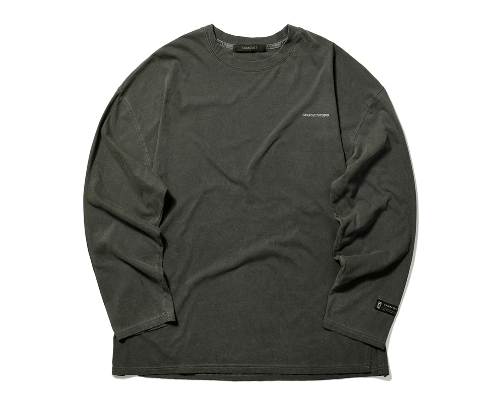 FANACULT STUDIO. LONG SLEEVE-BLACK