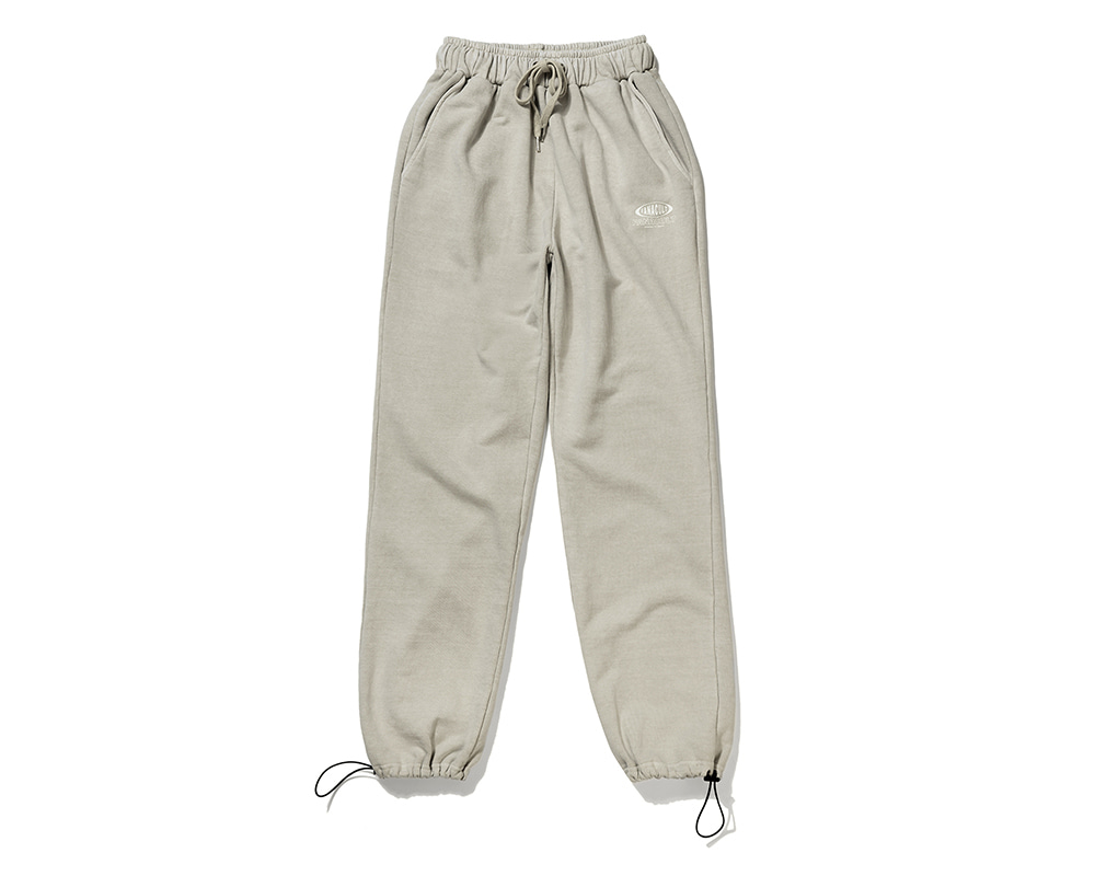 FANACULT BIG NAME SET_UP PANTS-OATMEAL