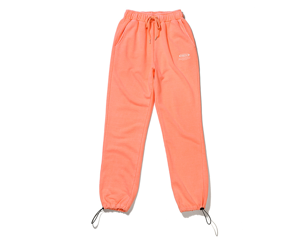 FANACULT BIG NAME SET_UP PANTS-NEO ORANGE