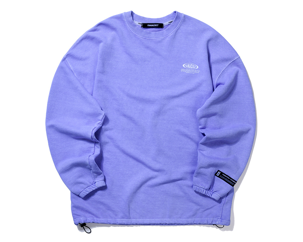 FANACULT ONE LOGO SLEEVE-PURPLE