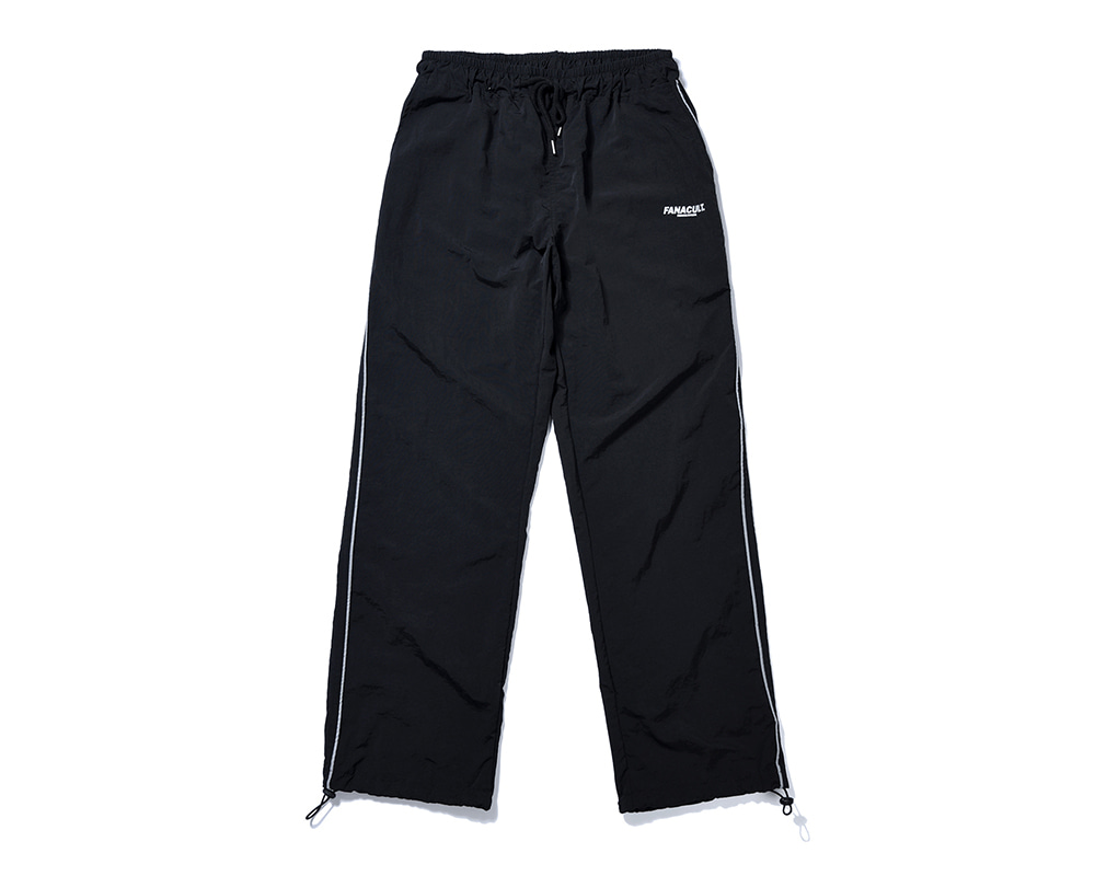 FANACULT EARTH LOGO SET_UP PANTS-BLACK