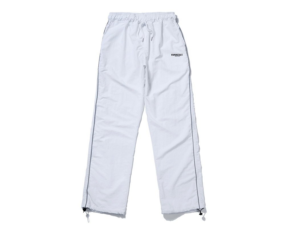 FANACULT EARTH LOGO SET_UP PANTS-WHITE
